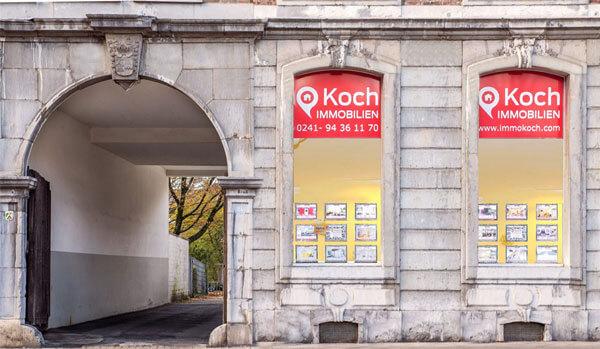 Immobilienmakler Koch - ein Profi an Ihrer Seite bei Verkauf und Vermietung von Immobilien