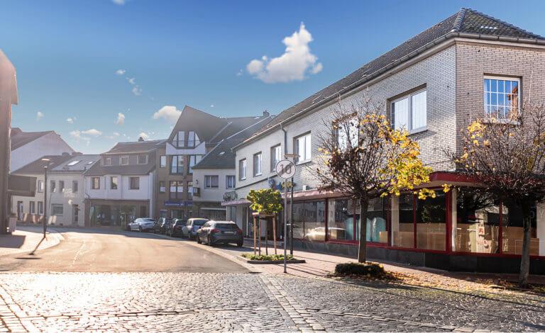 Große Gewerbeimmobilie im Baesweiler Zentrum zu verkaufen!