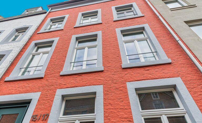 Außenansicht möblierte Wohnung in Aachen zu vermieten - Immobilienmakler Koch Immobilien