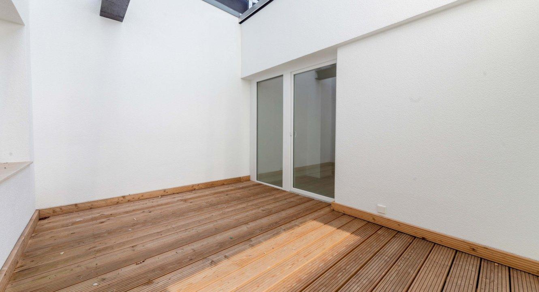 Terrasse Loftwohnung in Aachen zu vermieten | Koch Immobilien - Ihr Immobilienmakler in Aachen