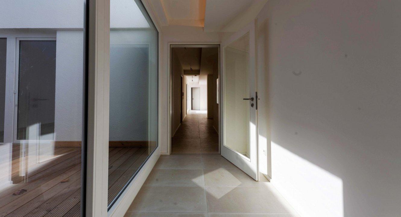 Flur in Loftwohnung zu vermieten | Koch Immobilien - Ihr Immobilienmakler in Aachen